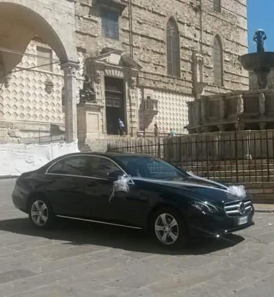 Mercedes matrimonio Perugia